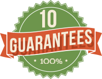 10 Guarantees 100%